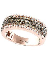 Effy - Fine Jewelry 14k Rose Gold 1.20 Ct. Tw. Diamond Ring - Lyst