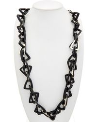 Lafayette 148 New York - Triange Link Necklace - Lyst
