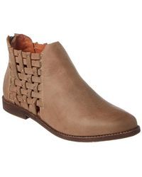 Chocolat Blu - Faven Leather Bootie - Lyst