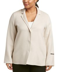 Marina Rinaldi - Plus Wool & Angora-blend Coat - Lyst