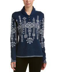 Obermeyer - Cabin-knit Wool-blend Pullover - Lyst