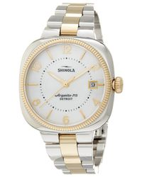 Shinola - Women's Gomelsky Stainless Steel Watch - Lyst