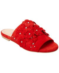 Charles David - Sicilian Flower Slide Sandal - Lyst