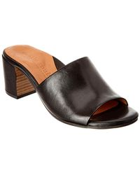 Gentle Souls - Chantel-la Leather Slide Sandal - Lyst