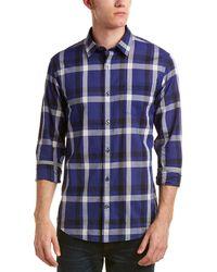 Vince - Plaid-print Cotton Shirt - Lyst