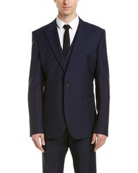 Reiss - Faith Modern Fit Wool & Mohair-blend 3pc Vested Suit - Lyst
