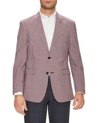 Tommy Hilfiger - Suiting Stretch Seer Gingham Notch Lapel Sportcoat - Lyst