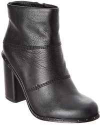 Splendid - Rita Ii Leather Bootie - Lyst