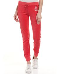 Juicy Couture - Zuma Velour Track Pant - Lyst