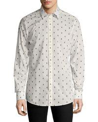 Dolce & Gabbana - Printed Sportshirt - Lyst