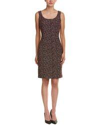 St. John - Wool-blend Dress - Lyst