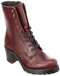 Frye - Sabrina Moto Leather Bootie - Lyst