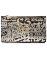 Charlotte Olympia - Newspaper Coin Purse - Lyst