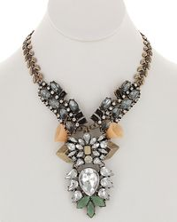 Sparkling Sage - 14k Crystal & Resin Necklace - Lyst