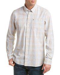 Victorinox - Swiss Army Tailored Fit Linen-blend Woven Shirt - Lyst