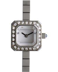 Corum - Sugar Cube Diamond Watch - Lyst
