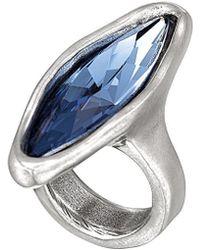 Uno De 50 - Right Now Silver Ring - Lyst