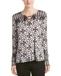 NYDJ | Batik Print Top | Lyst