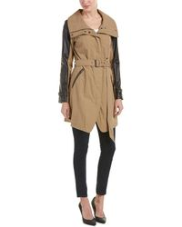 7 For All Mankind - 7 For All Mankind Trench Coat - Lyst
