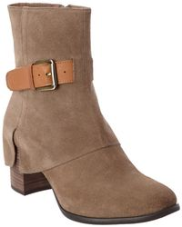 Chocolat Blu - Hendrix Suede Ankle Boot - Lyst
