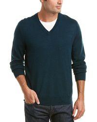Brooks Brothers - Wool V-neck Jumper - Lyst