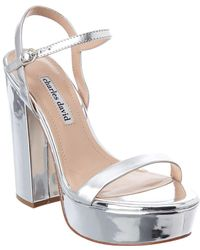 Charles David - Regal Leather Sandal - Lyst