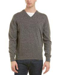 Brunello Cucinelli - Cashmere V-neck Sweater - Lyst