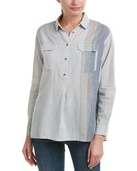 French Connection Maryann Top - Gray