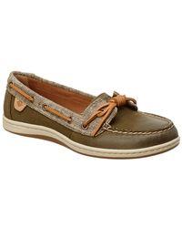 Sperry Top-Sider - Women's Barrelfish Leather Boat Shoe - Lyst