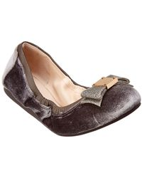 Cole Haan - Tali Bow Ballet Flat - Lyst