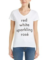 Hype - Hype Red, White, & Sparkling Rose T-shirt - Lyst