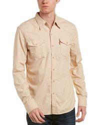 Levi's - Western Wellthread Woven Shirt - Lyst