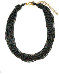Kenneth Jay Lane - Resin Twisted Layer Statement Necklace - Lyst