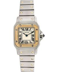 Cartier - Cartier 2000s Santos Galbee Watch - Lyst