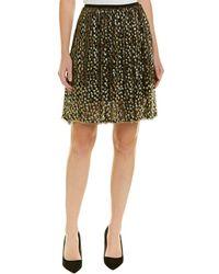 Elie Tahari - Silk-blend A-line Skirt - Lyst