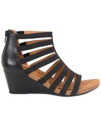 Söfft - Mati Wedge Sandals - Lyst