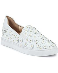 Isa Tapia - Taylor Floral-accented Trainer - Lyst