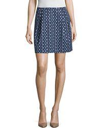 Elorie - Print A-line Skirt - Lyst