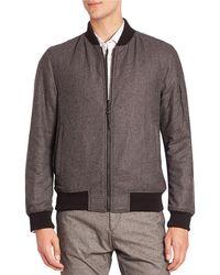Strellson - Textured Ribbed Jacket - Lyst