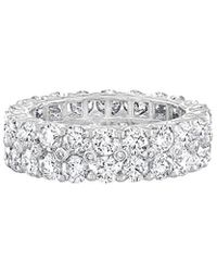 Diana M. Jewels - . Fine Jewellery 18k 4.00 Ct. Tw. Diamond Eternity Ring - Lyst