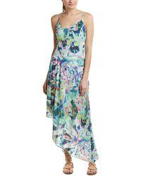 Quinn - Floral Midi Dress - Lyst