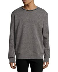 Twenty - Crewneck Knit Sweatshirt - Lyst
