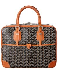 Goyard - Black Ine Canvas Ambassade Briefcase - Lyst