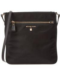 6890796bd9fc MICHAEL Michael Kors - Nylon Kelsey Large Crossbody (black) Cross Body  Handbags - Lyst