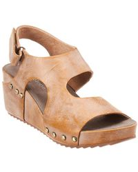 Antelope - 537 Leather Wedge Sandal - Lyst