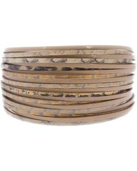 Saachi - Wild Style Leather Bracelet - Lyst
