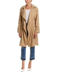 French Connection - Erna Trench Coat - Lyst