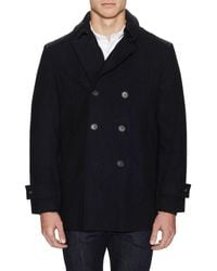 Tommy Hilfiger - Outerwear Brady Double Breasted Peacoat - Lyst