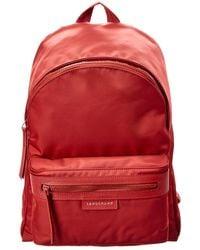 Longchamp - Le Pliage Neo Medium Canvas Backpack - Lyst