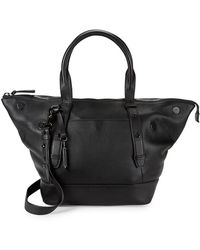 Mackage - Pebbled Leather Mini Tote - Lyst